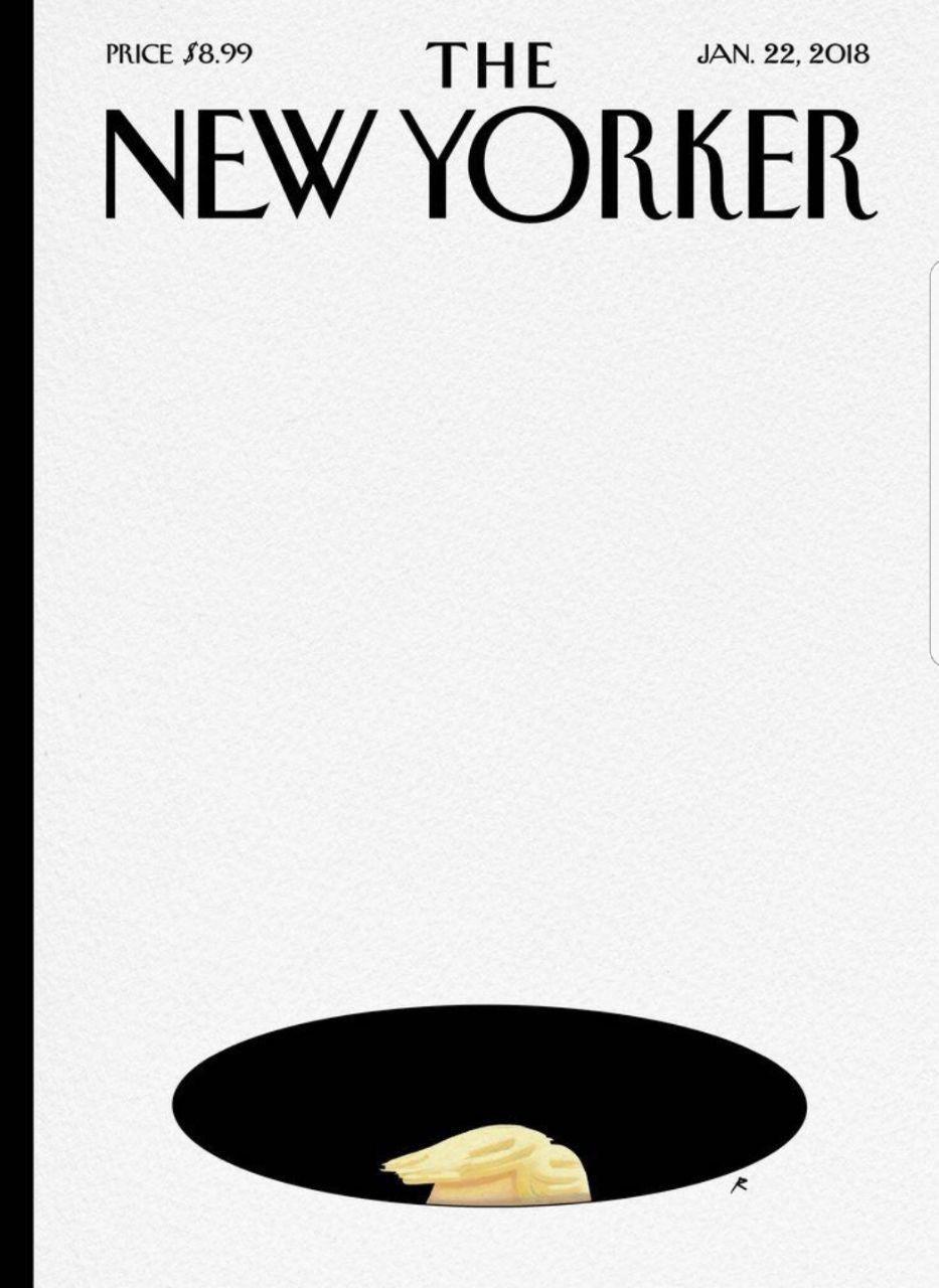 جلد مجله نیویورکر در واکنش به توهین ترامپ به کشورهای آفریقایی (عکس)