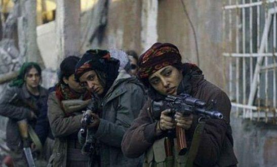 گلشیفته فراهانی در نقش دختر مبارز علیه داعش (عکس)