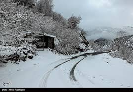آغاز بارش برف و باران از یکشنبه