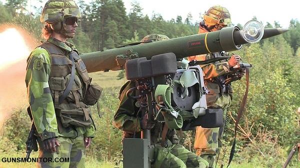 سامانه موشکی سوئدی RBS 70(+عکس)