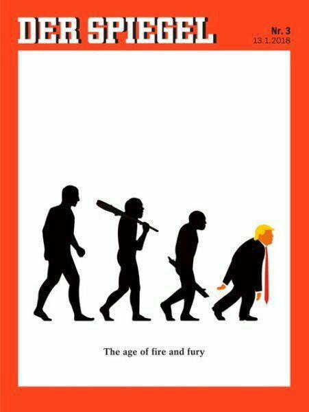 جلد نشریه اشپیگل آلمان: عصر آتش و خشم (عکس)