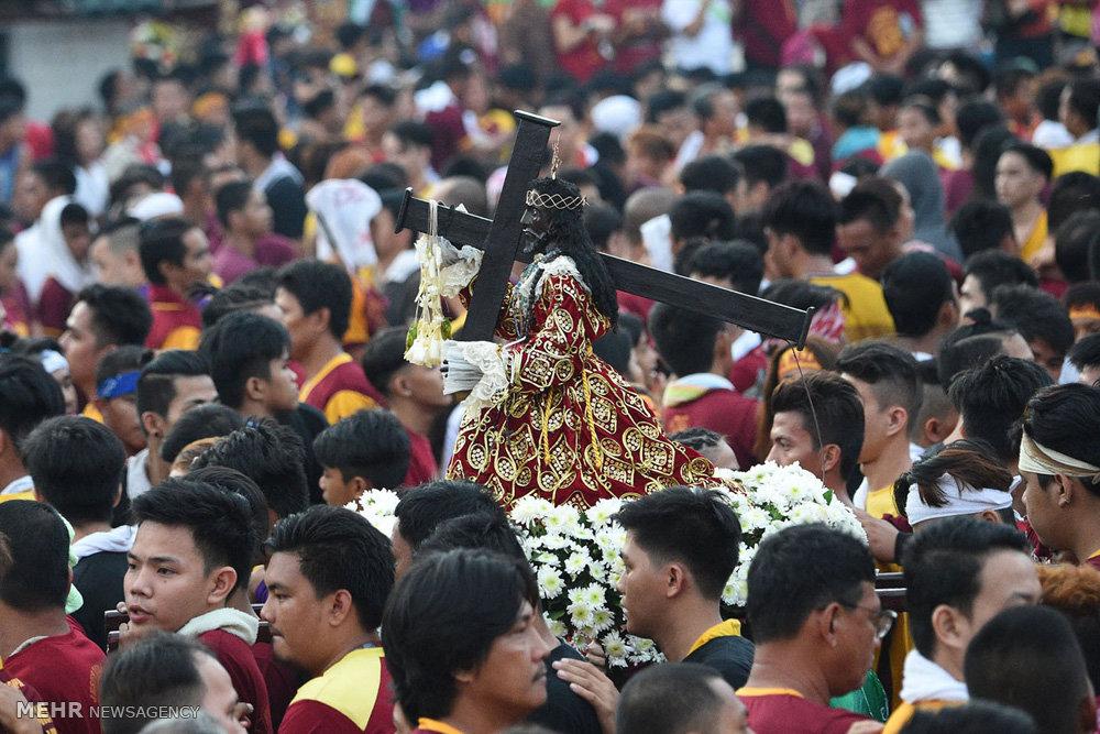 مراسم مذهبی «بلک نازارنه» در فیلیپین (عکس)