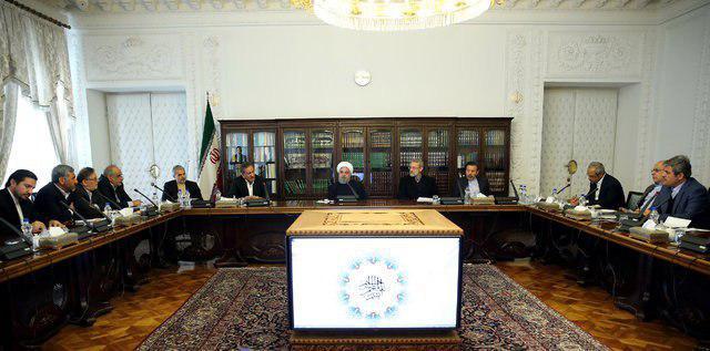 جلسه مشترک روحانی، لاریجانی، اعضای دولت و مجلس درباره بودجه