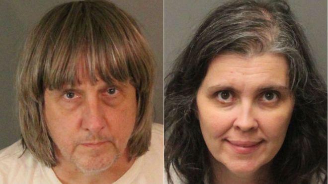 آمریکا؛ بازداشت پدر و مادری که 13 فرزند خود را سال ها زندانی و شکنجه می کردند
