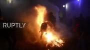 پریدن با اسب از روی آتش در جشن سنت آنتونی (فیلم)