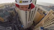 بلندترین و سریع ترین زیپ لاین جهان در دبی (فیلم)