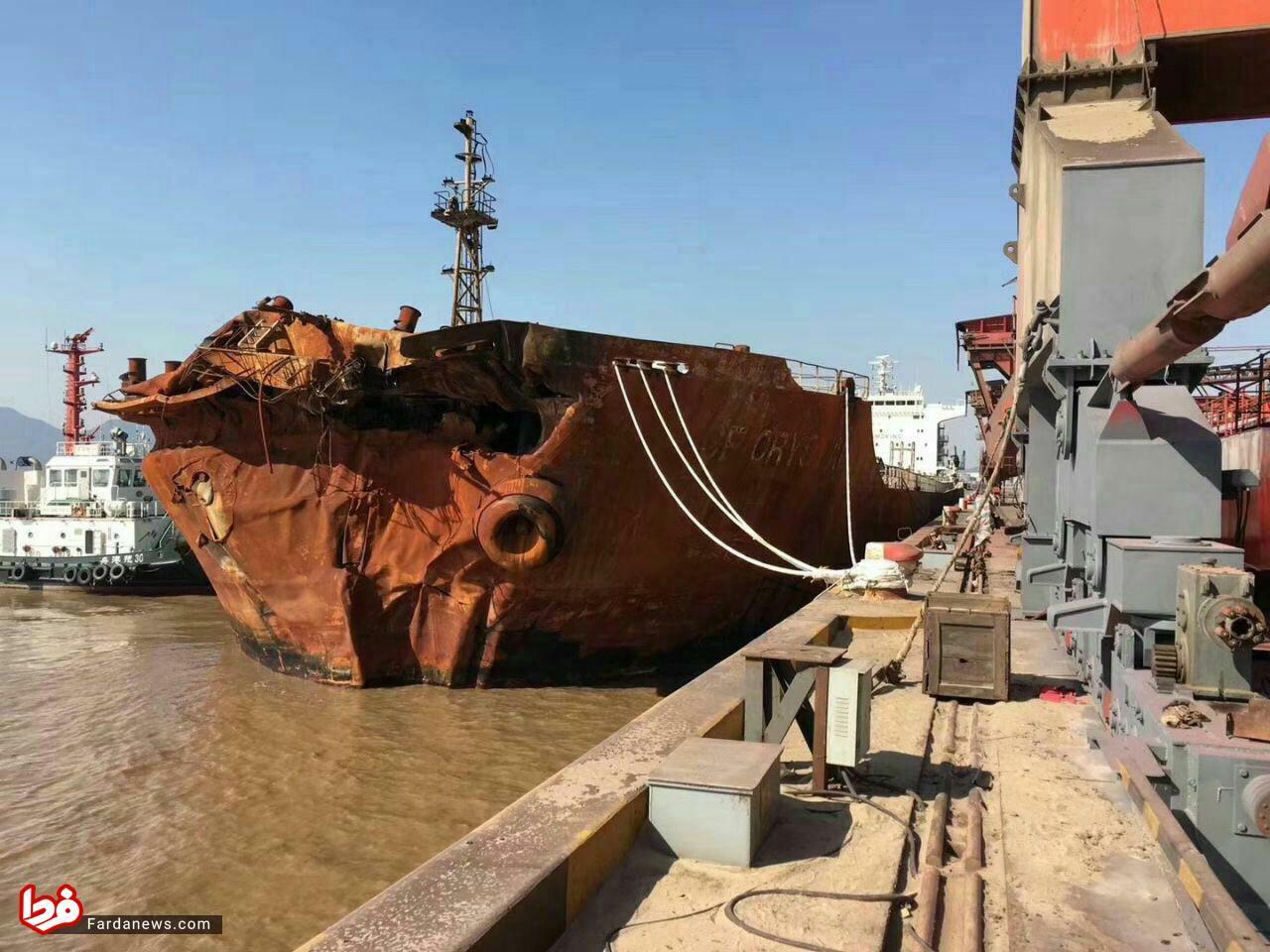 تا اطلاعات سانچی رمزگشایی نشود هر صحبتی حدس و گمان است/تجهیزات ارتباطی نفتکش سانچی مشکلی نداشت/خدمه دو کشتی متوجه نشدند تصادف کرده اند