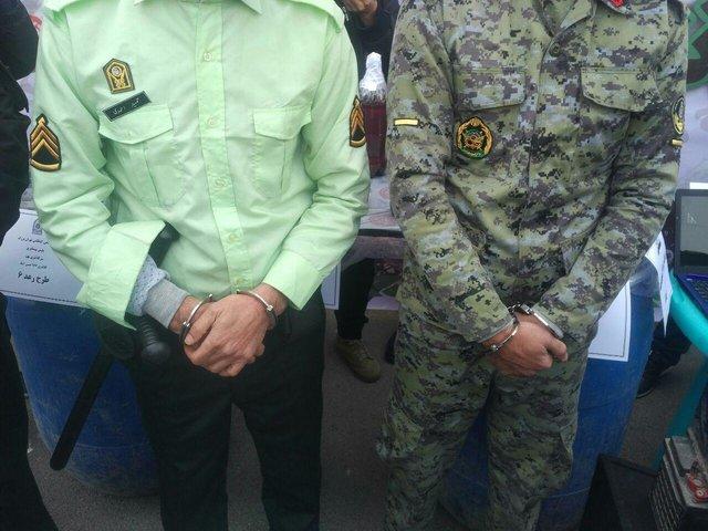 دستگیری ماموران قلابی ارتش و ناجا (+عکس)