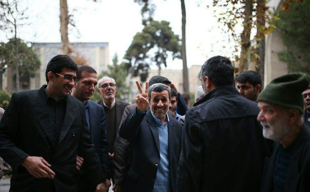 عکسی که احمدینژاد از خودش منتشر کرد