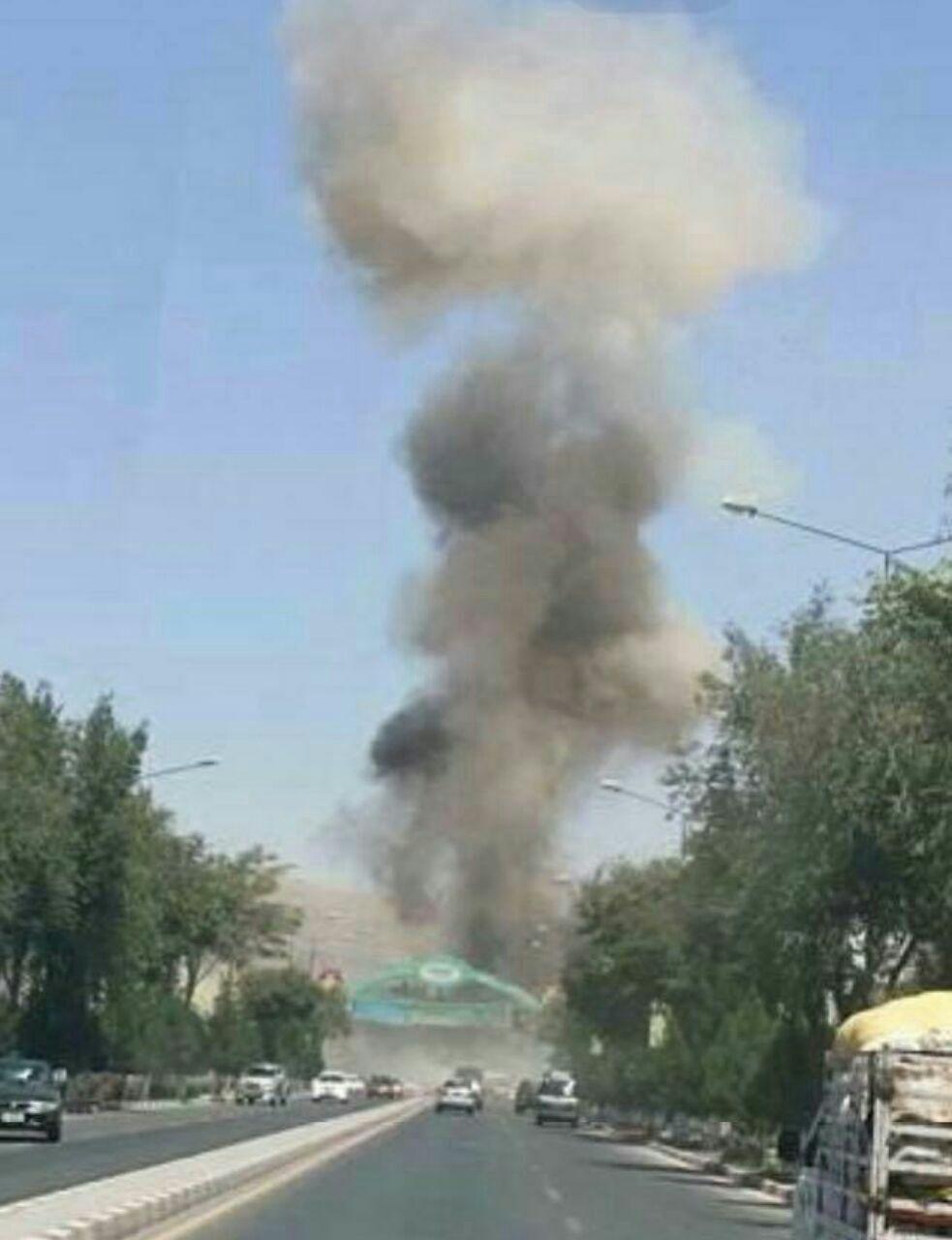 انفجار بمب در کنار جاده در افغانستان با 7 کشته و 3 زخمی (عکس)