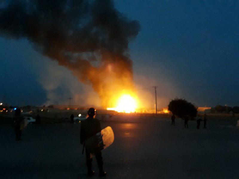 انفجار گاز در دزفول با 5 مصدوم (+عکس)