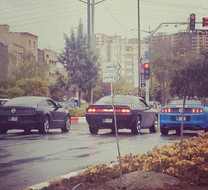 رژه آمریکاییها در تبریز (عکس)