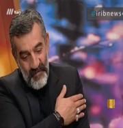 گریه رشیدپور حین صحبت های پدر آتش نشان شهید حسین زاده (فیلم)