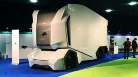 کامیون های آینده که نه کابین دارد و نه راننده (+عکس)