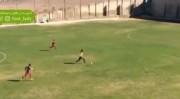 گل رونالدینیویی از فروغ موری خانمگل فوتبال ایران (فیلم)