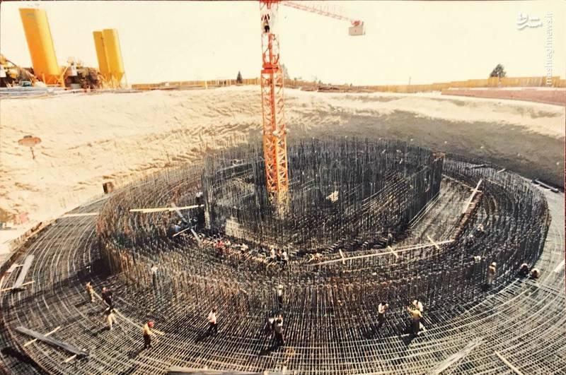 وقتی برج میلاد همسطح زمین بود (عکس)