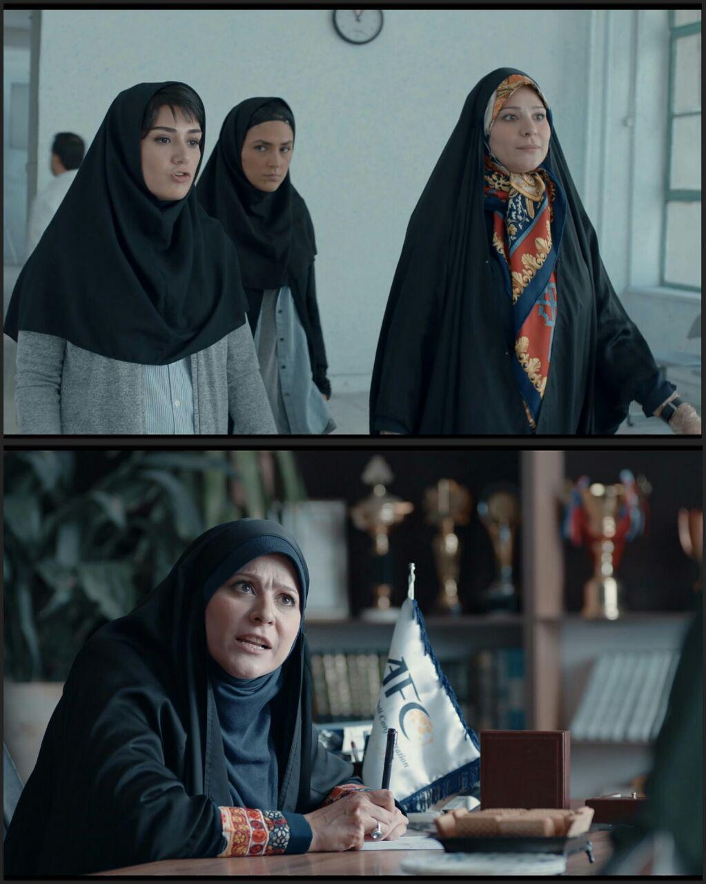 عکس متفاوت از سحر دولتشاهی در نقش معاون فدراسیون فوتبال بانوان