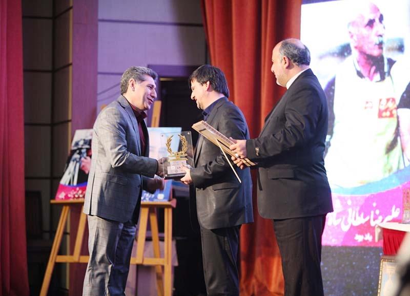 قدردانی از بانک رفاه در جشنواره فیلم های ورزشی
