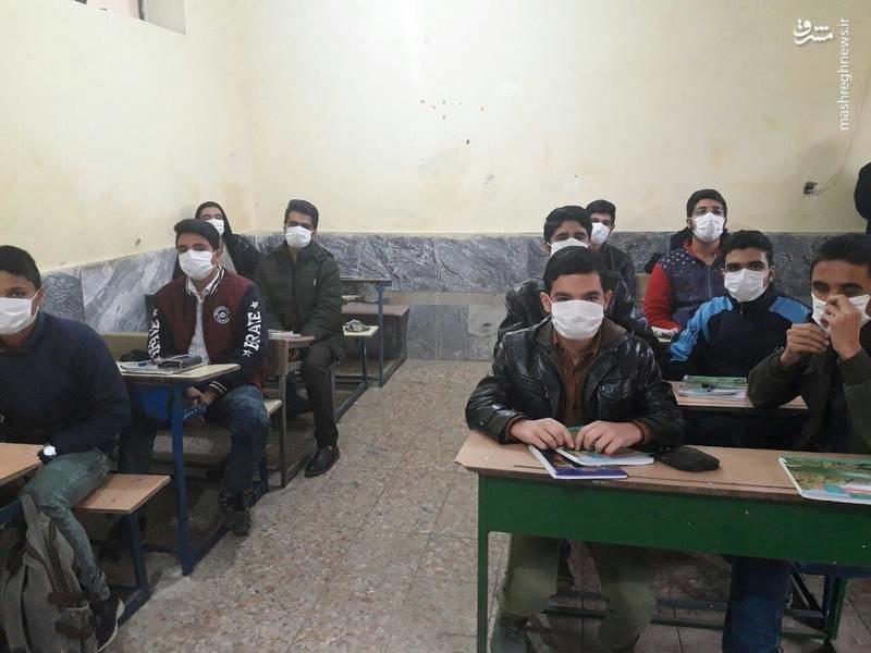 وضعیت کلاس درس در شهرستان دهلران ایلام (عکس)
