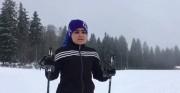 صحبت های الهه قلیفلاح، دختر نابینا و نماینده ایران در جام جهانی پارااسکی صحرانوردی (فیلم)