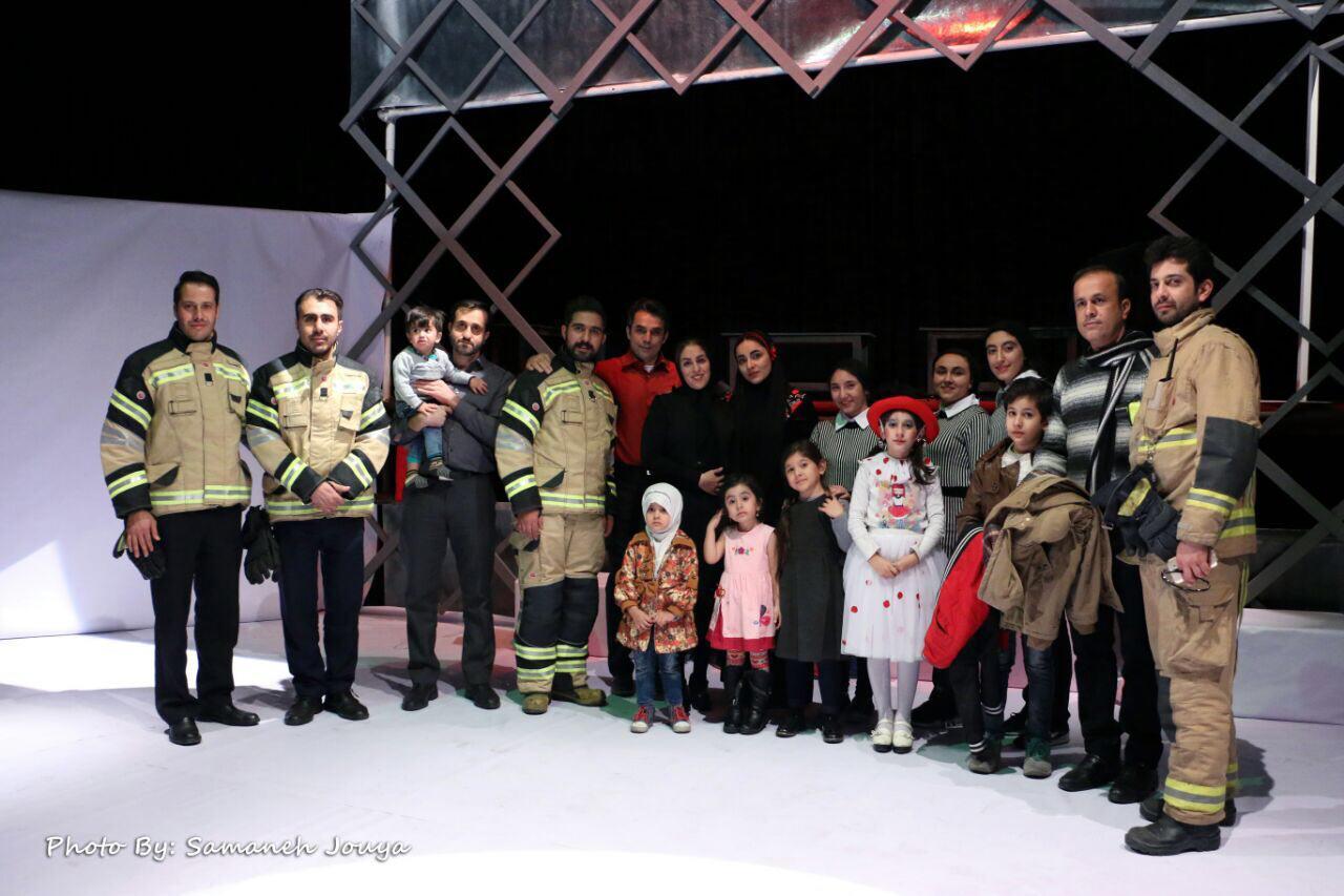 افتتاح نمايش دي دار  در پرديس تئاتر تهران