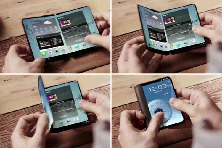 سامسونگ احتمالا امسال گوشی هوشمند تاشو تولید کند