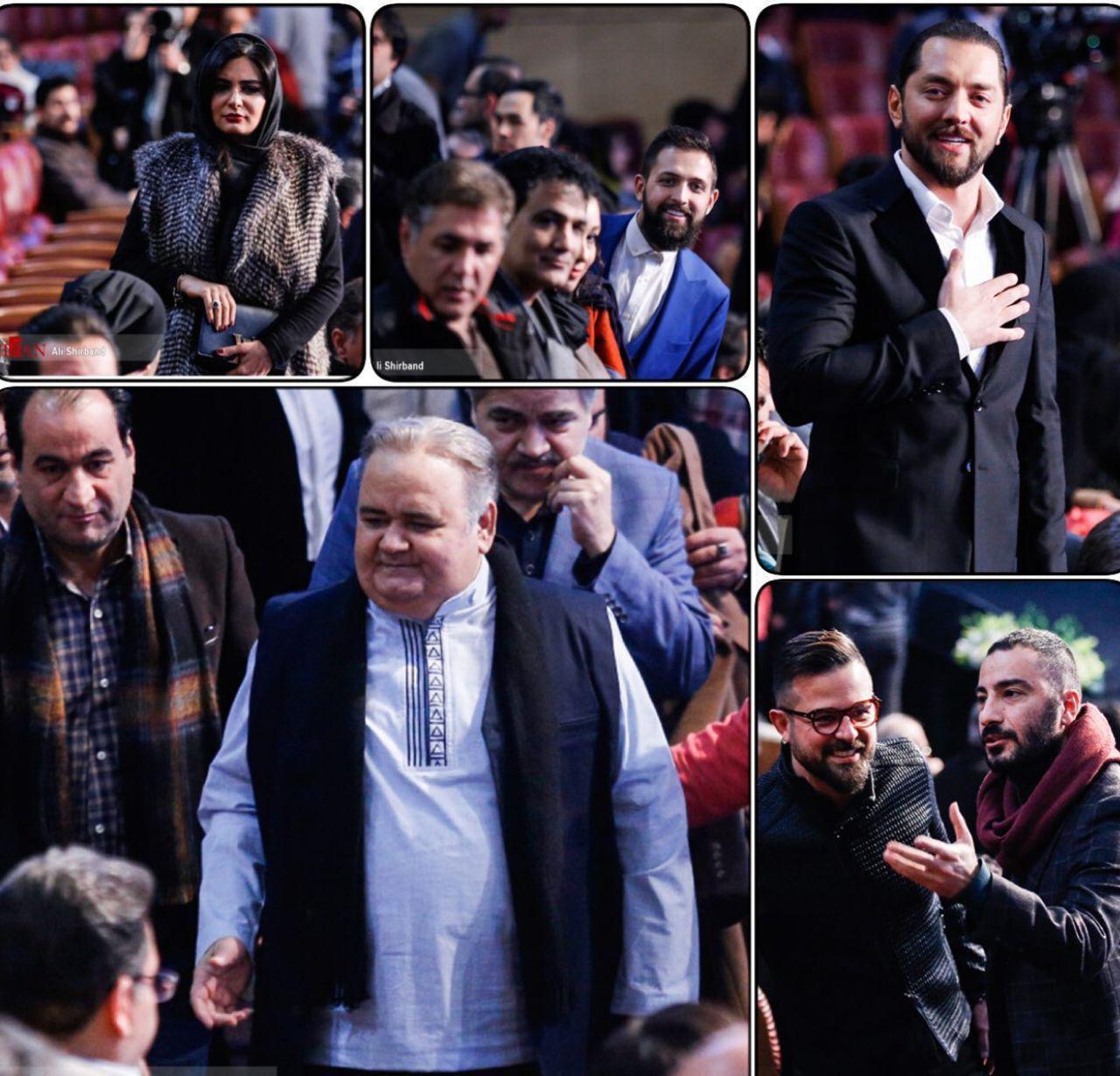 افتتاح سی و ششمین جشنواره فیلم فجر/ حضور چهره های مطرح سینمایی در برج میلاد (+عکس)