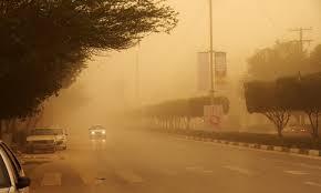 گرد و خاک 359 نفر را در جنوب غرب خوزستان راهی بیمارستان کرد