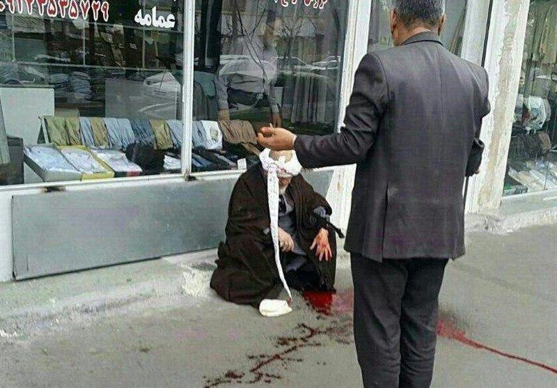 حمله با چاقو به 2 روحانی در قم (+عکس)/ دادستانی: متهم تعادل روحی و روانی نداشته