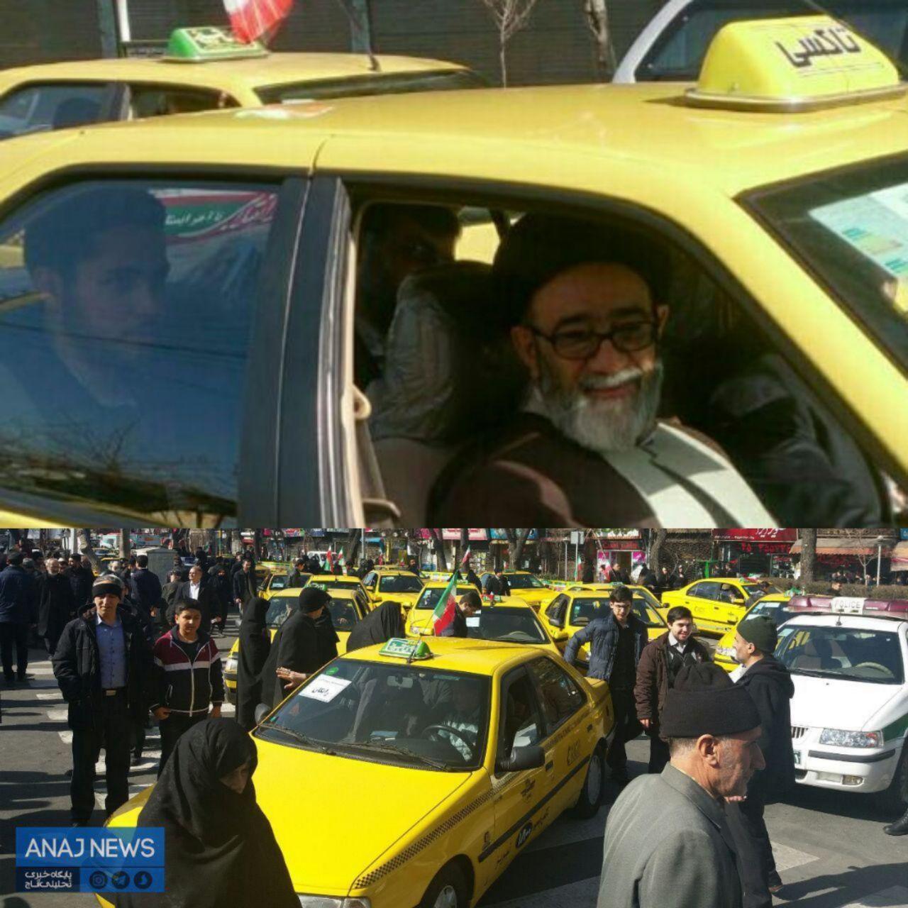 امام جمعهای که بعد از نماز با تاکسی رایگان به منزل بازگشت  (+عکس)
