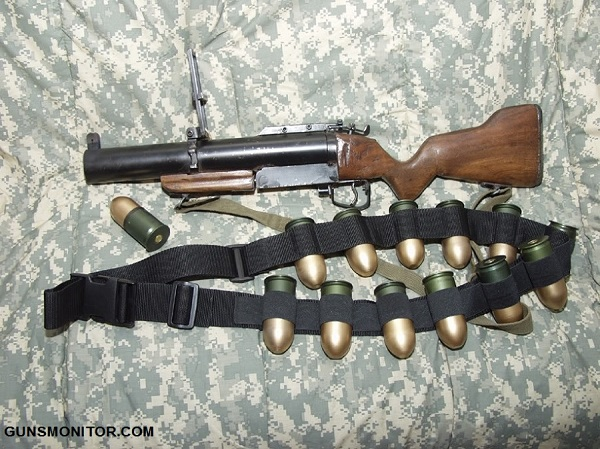 نارنجک انداز سنتی ارتش آمریکا(+عکس)