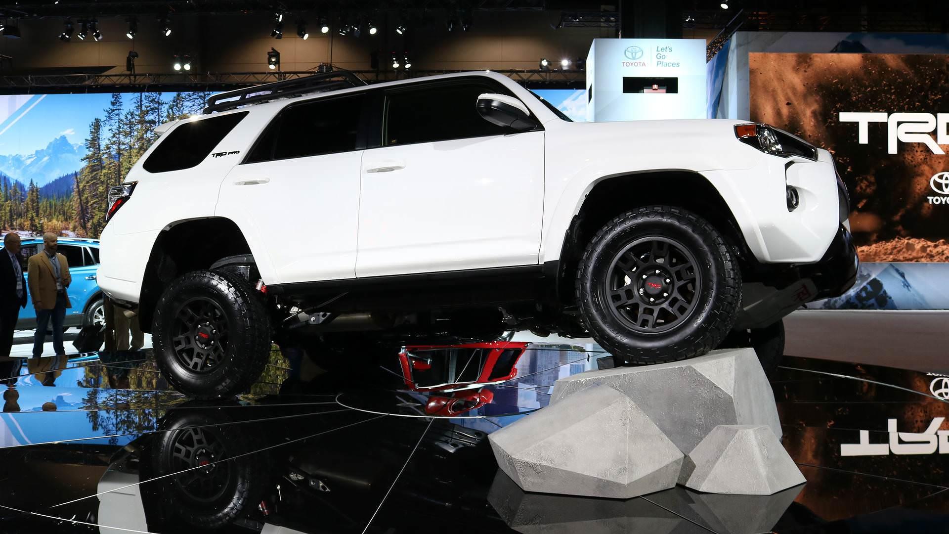آفرودرهای تویوتا در نمایشگاه خودرویی شیکاگو