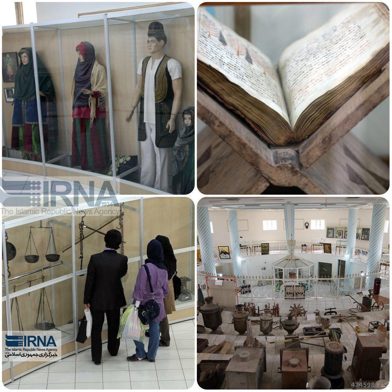 موزه مردم شناسي زرتشتيان كرمان (عکس)