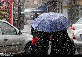 باران و برف 15 استان کشور را در برمیگیرد