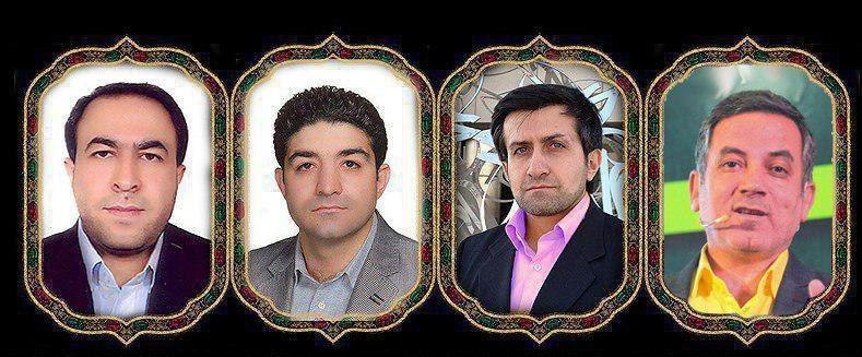 4 تن از استادان دانشگاه آزاد که صبح امروز در حادثه سقوط هواپیمای یاسوج جان باختند(عکس)