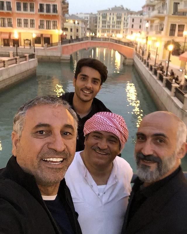 سلفی بازیگران ایرانی در قطر (عکس)