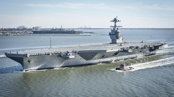 ویژگی های ناو هواپیمابر جدید نیروی دریایی آمریکا چیست؟