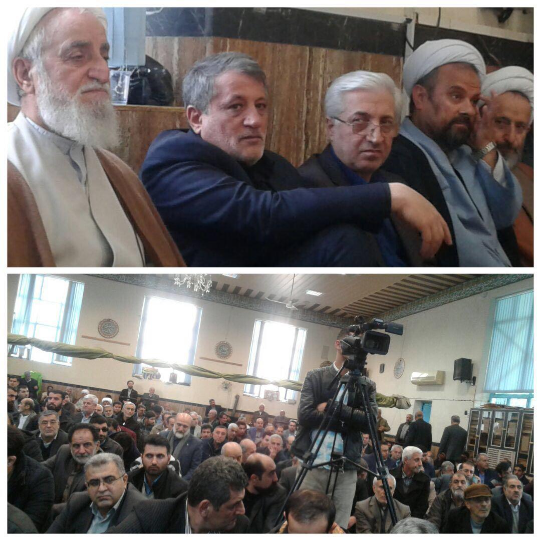 مراسم سالگرد آیت الله هاشمی در قائمشهر (+عکس)