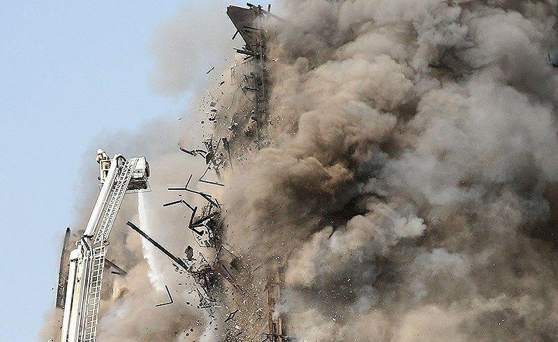 آتش سوزی پلاسکو باید بین 6 تا 15 دقیقه مهار می شد/مردم ریزش های قبل از فروریختن پلاسکو را ندیده اند/تصمیم گیری فرماندهی آتش نشانی، فردی بوده و نه طبق برنامه