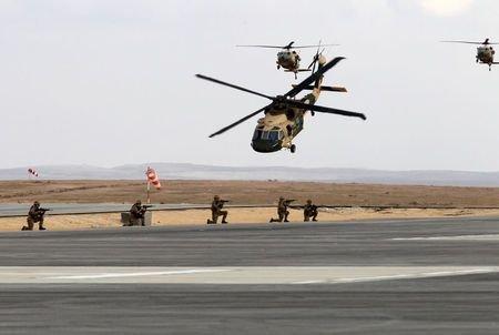 تحویل هلیکوپترهای بلک هاوک آمریکایی به اردن