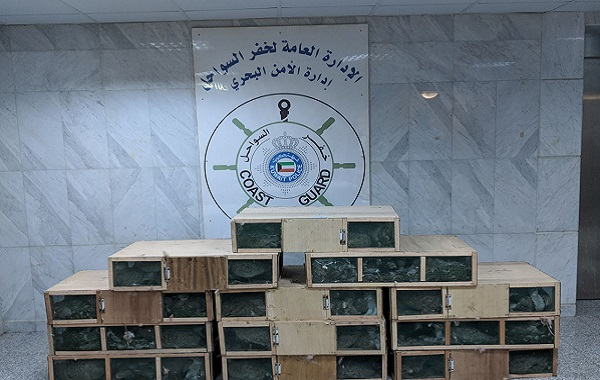 توقیف کشتی ایرانی در کویت به دلیل قاچاق پرنده (+عکس)