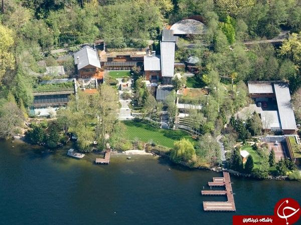 حقایقی عجیب در مورد خانه 125 میلیون دلاری بیل گیتس (+عکس)