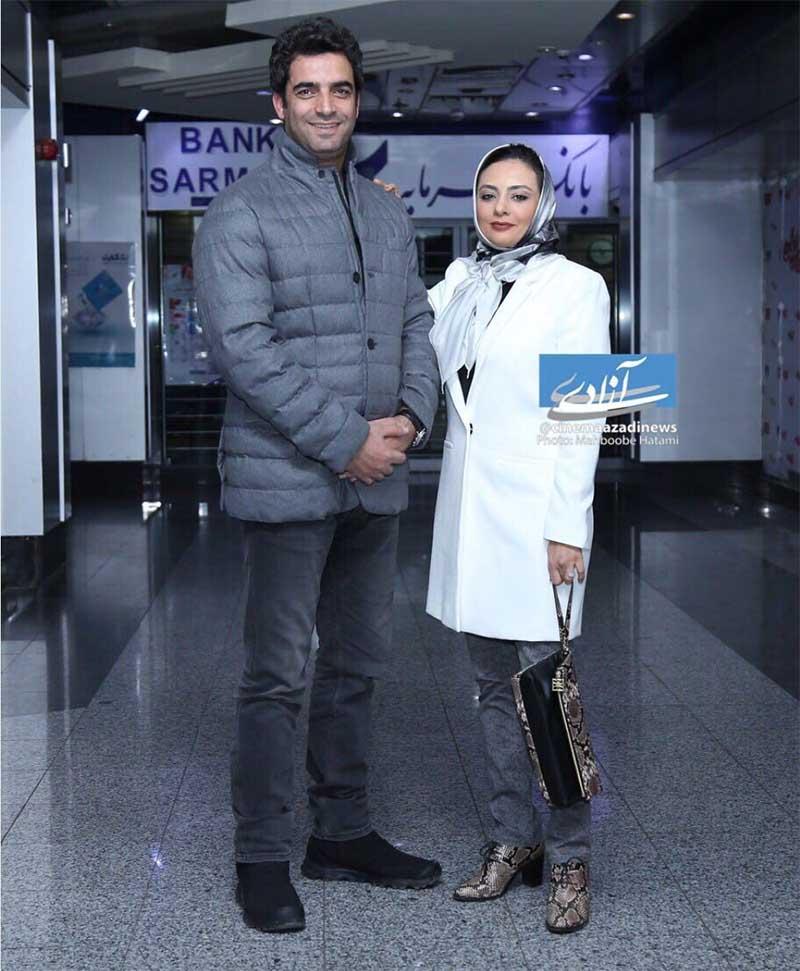 یکتا ناصر و همسرش دیشب در یک مراسم (عکس)