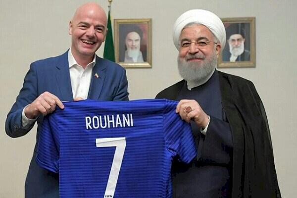 پشت پردهی ویژه حضور اینفانتینو در تهران