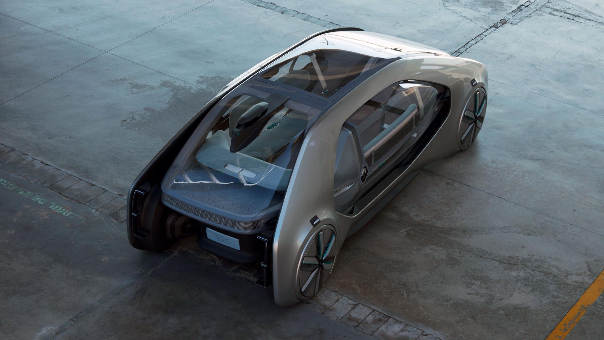 رونمایی از تاکسی الکتریکی و خودران