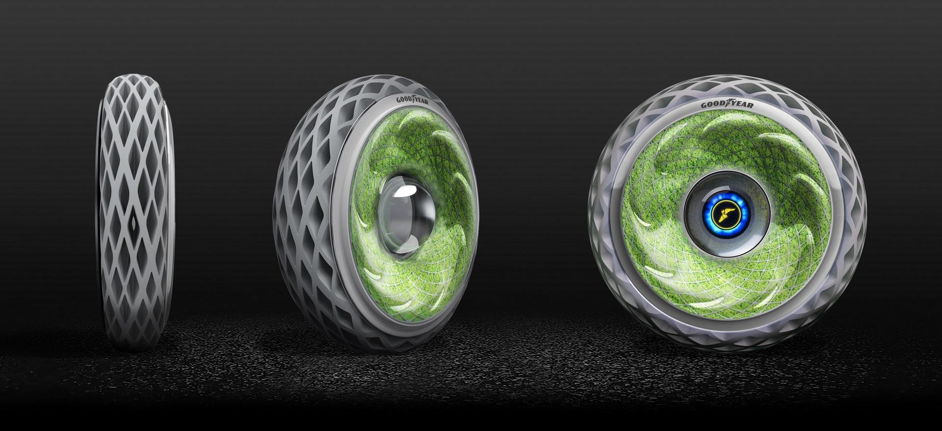 برانید و اکسیژن تولید کنید/ تایرهایی پوشیده از خزه که سلامت مردم شهر کمک خواهند کرد
