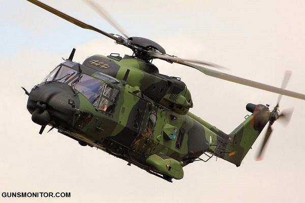 نگاهی به بالگرد نظامی چند منظوره NH90 (+عکس)