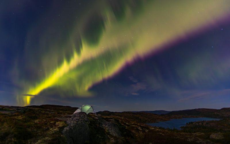 شفق قطبی (عکس)