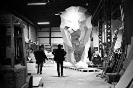 """"""" شیر"""" 12 متری پژو در نمایشگاه ژنو (+عکس)"""