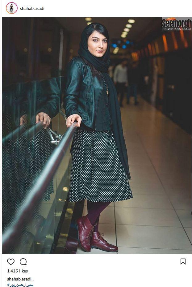 پوشش و ظاهر سمیرا حسن پور در یک مراسم (عکس)